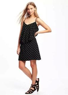 Ruffle-Trim Cami Dress for Women