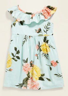 Old Navy Ruffle-Trim Cinched-Waist Dress for Baby