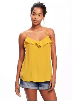 Old Navy Ruffled Crepe Cami for Women