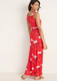 Old Navy Scoop-Neck Fit & Flare Maxi Dress for Women