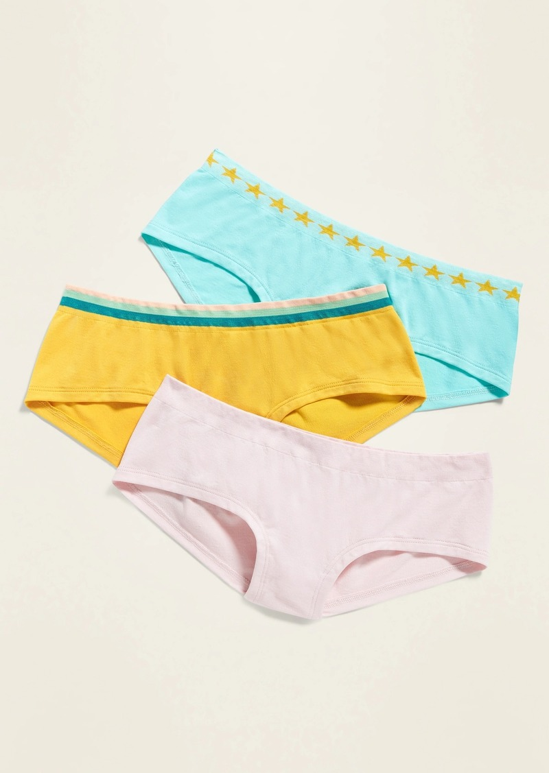 Old Navy Seamless Hipster Underwear 3-Pack for Girls