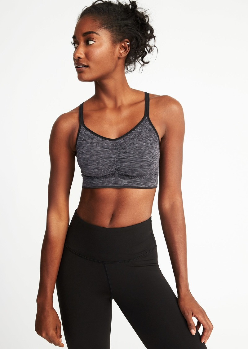 226a4107970c7e Old Navy Seamless Light Support Sports Bra for Women