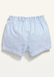 Old Navy Seersucker-Stripe Pull-On Shorts for Baby