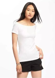 Old Navy Semi-Fitted Off-the-Shoulder Top for Women