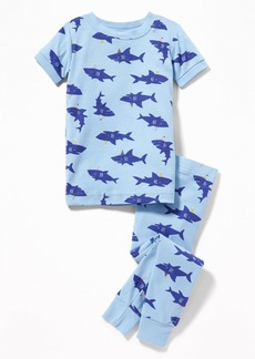 Old Navy Shark-Print Sleep Set for Toddler Boys & Baby