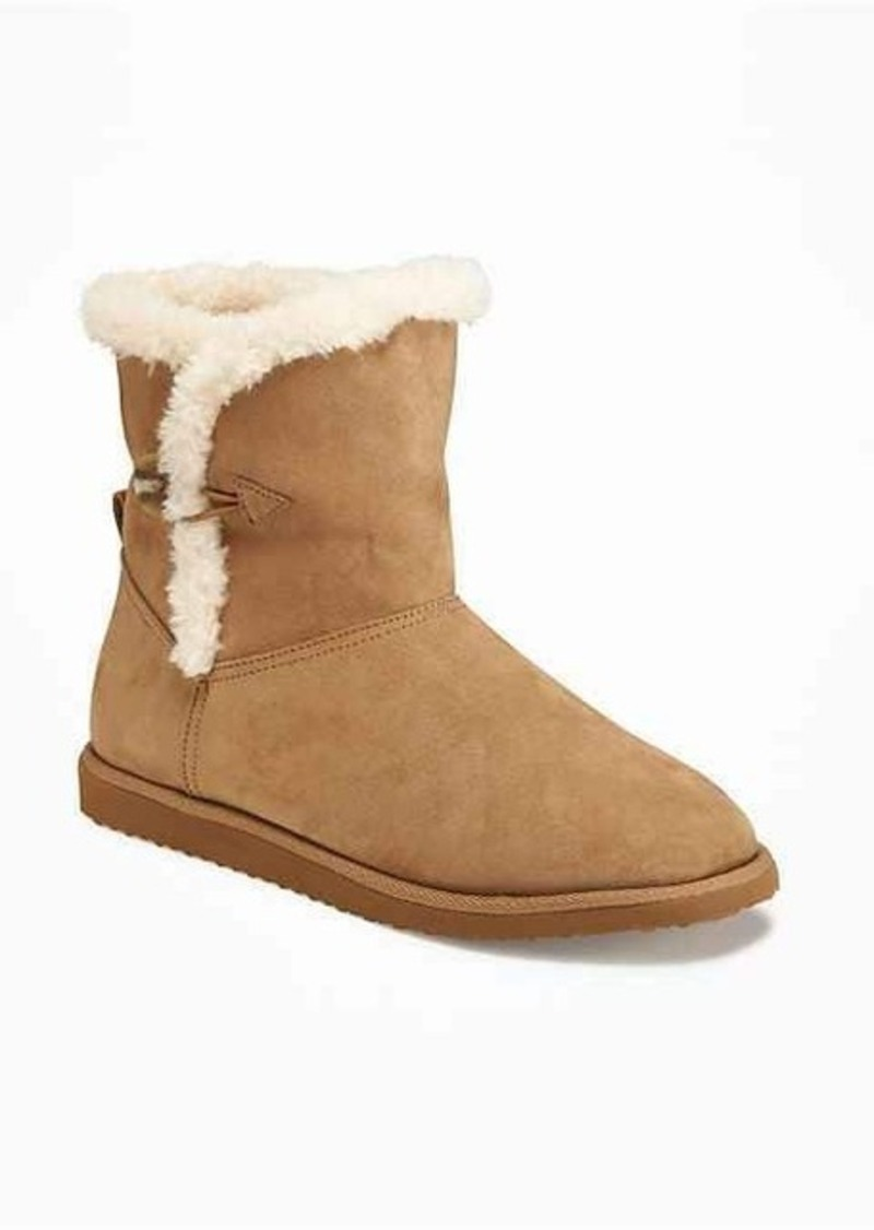 Old Navy Sherpa-Lined Boots for Women