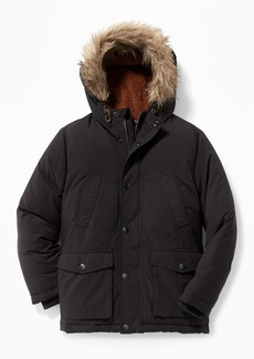 Old Navy Sherpa-Lined Hooded Parka for Boys