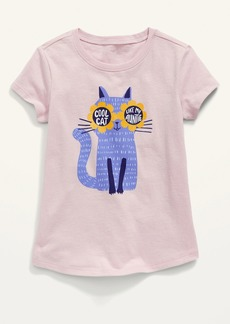 Old Navy Short-Sleeve Graphic Tee for Toddler Girls