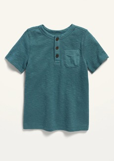 Old Navy Short-Sleeve Thermal Henley for Toddler Boys