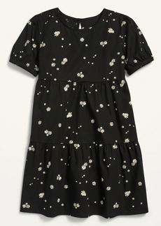 Old Navy Short-Sleeve Tiered Dress for Girls