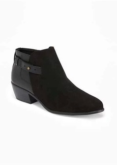 Old Navy Side-Strap Ankle Boots for Women