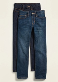 Old Navy Skinny Non-Stretch Dark-Wash Jeans 2-Pack for Boys
