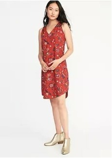 Sleeveless Cutout-Back Shift Dress for Women