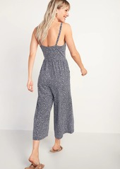 Old Navy Sleeveless Jersey-Knit Cami Jumpsuit for Women
