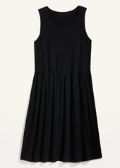 Old Navy Sleeveless Jersey Drop-Waist Swing Dress for Women