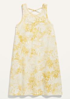 Old Navy Sleeveless Lattice-Back Dress for Girls