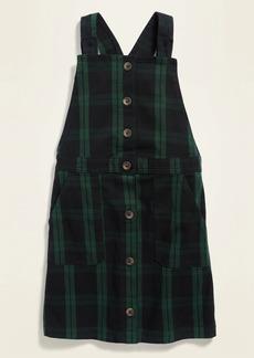Old Navy Sleeveless Plaid Uniform Dress for Girls