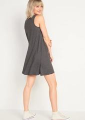 Old Navy Sleeveless Slub-Knit Swing Dress for Women