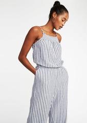 11ed0e2e01aa ... Old Navy Sleeveless Smocked-Neck Striped Jumpsuit for Women ...