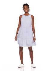 305b17a121e41 Old Navy Sleeveless Striped Tiered Swing Dress for Women