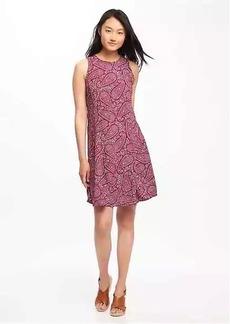Sleeveless Swing Dress for Women