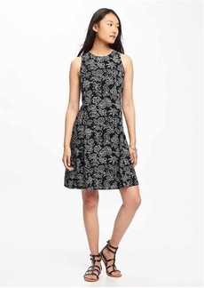 Sleeveless Swing Dress for Women