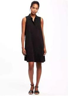 Old Navy Sleeveless Swing Shirt Dress for Women