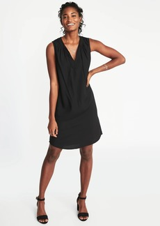 Old Navy Sleeveless Tie-Neck Shift Dress for Women