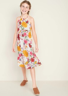 Old Navy Sleeveless Tulip-Hem Midi Dress for Girls