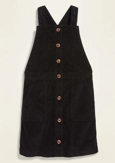 Old Navy Sleeveless Uniform Corduroy Dress for Girls