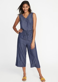 Old Navy Sleeveless Utility Jumpsuit for Women