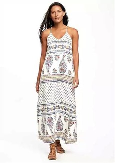 Sleeveless V-Neck Maxi Dress for Women