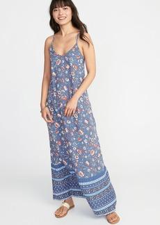 Old Navy Sleeveless V-Neck Maxi Dress for Women