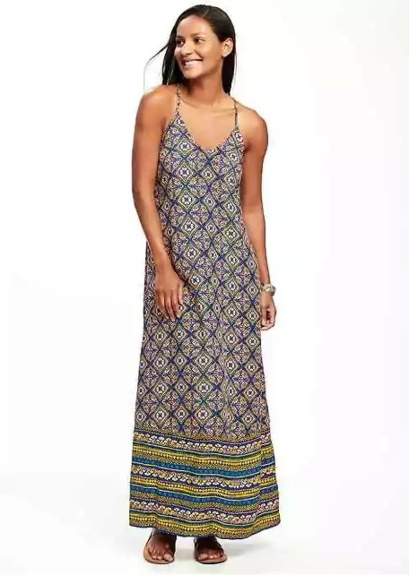 Vneck Maxi Dress