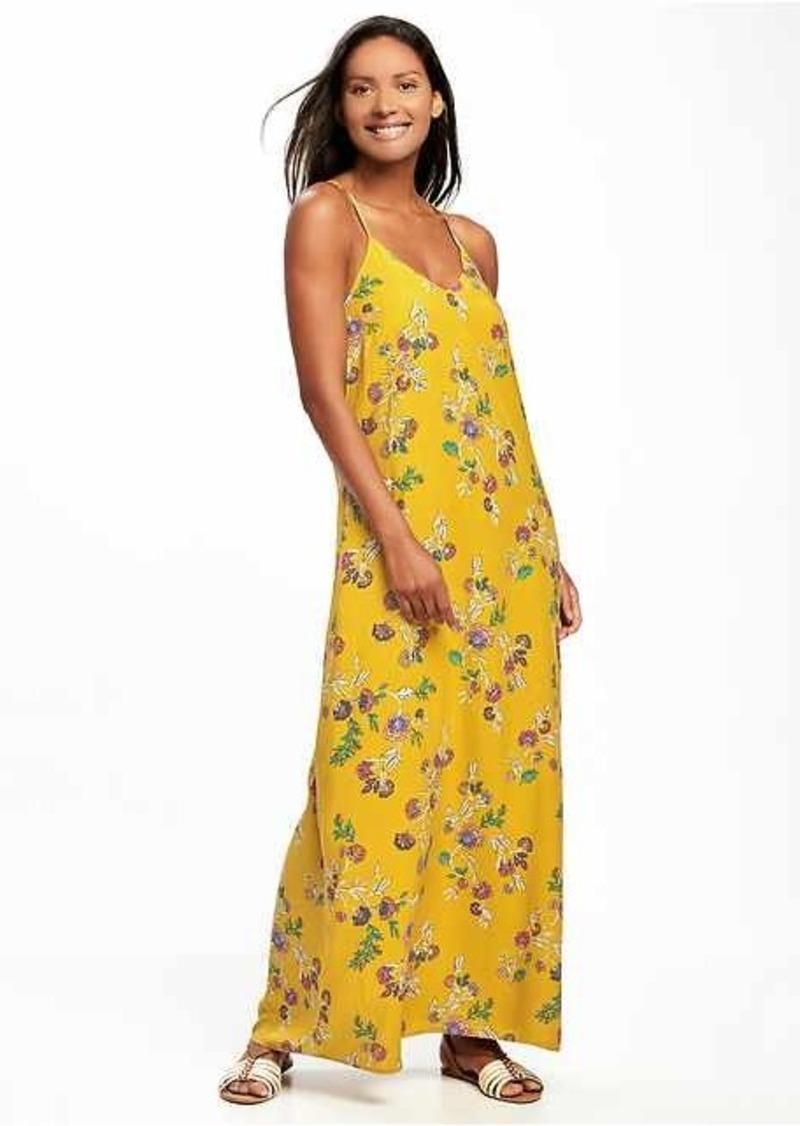 Sale Old Navy Sleeveless V Neck Maxi Dress For Women