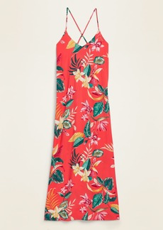 Old Navy Sleeveless V-Neck Maxi Shift Dress for Women