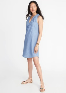 Old Navy Sleeveless V-Neck Shift Dress for Women