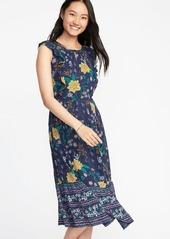 bc130c98b22 Old Navy Sleeveless Waist-Defined Midi Dress for Women