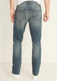 Old Navy Slim Built-In Flex Distressed Jeans for Men