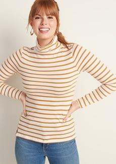 Old Navy Slim-Fit Striped Turtleneck for Women