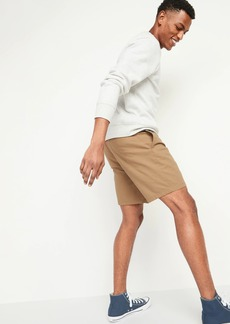 Old Navy Slim Ultimate Chino Shorts for Men -- 8-inch inseam