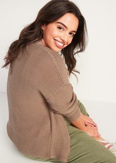 Old Navy Slouchy Open-Front Cardigan Sweater for Women