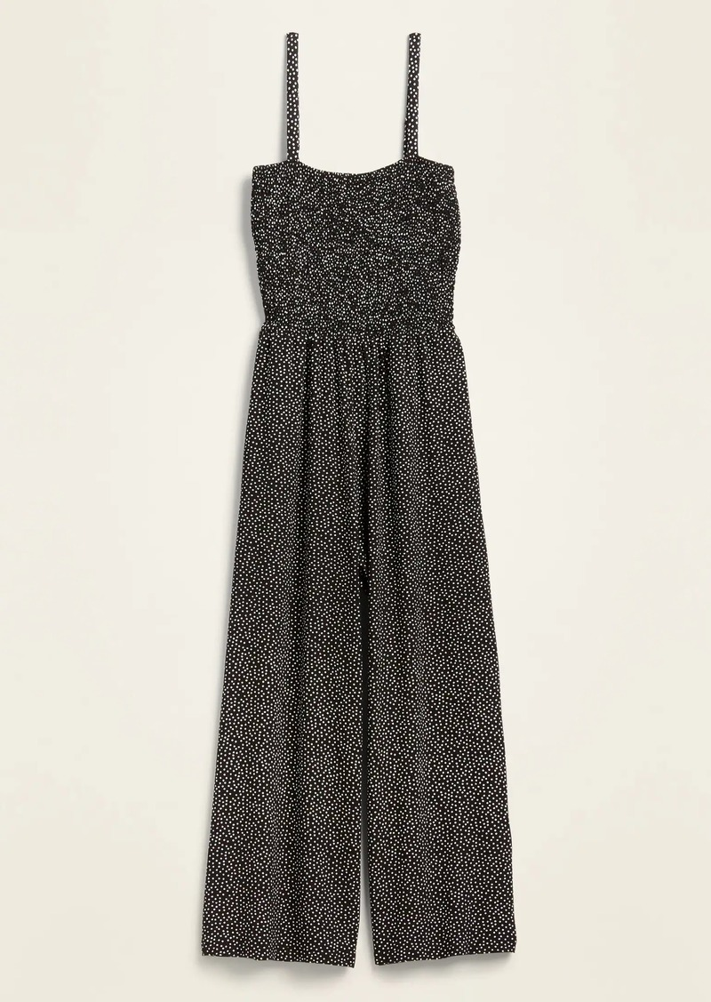 Old Navy Smocked Jersey Cami Jumpsuit for Women