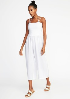Old Navy Smocked Wide-Leg Jumpsuit for Women