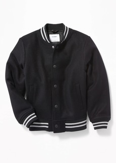 Old Navy Snap-Front Bomber Jacket for Boys