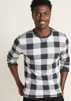 Old Navy Soft-Washed Built-In Flex Thermal-Knit Patterned Tee for Men