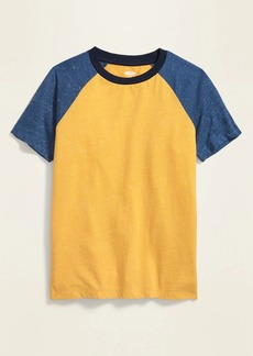 Old Navy Softest Color-Blocked Raglan Tee for Boys