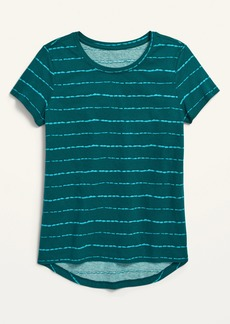 Old Navy Softest Printed Crew-Neck Tee for Girls