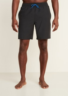 Old Navy Solid-Color Swim Trunks for Men -- 8-inch inseam