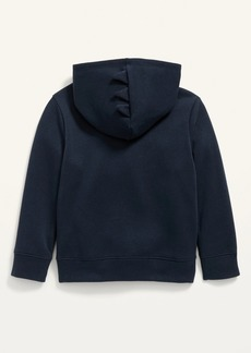 Old Navy Unisex Solid Critter Zip Hoodie for Toddler